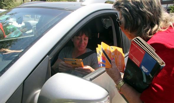 Seremi de Transportes, Conaset  y alcaldesa Virginia Reginato impulsan campaña que promueve el uso del cinturón de seguridad