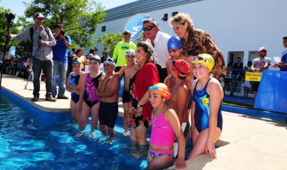 Programa de actividades acuáticas, Verano 2015, fue dado a conocer por alcaldesa Virginia Reginato