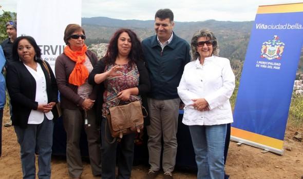 140 familias serán beneficiadas con proyecto habitacional en Viña del Mar