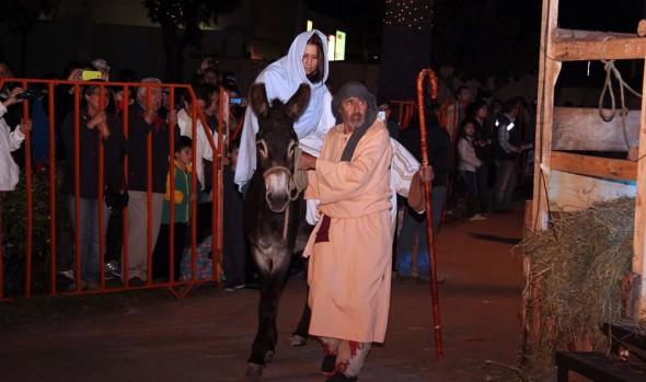 Municipalidad de Viña del Mar celebró Navidad Cristiana con pesebre viviente