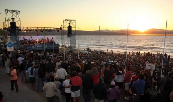 Como exitoso calificó alcaldesa Virginia Reginato concierto de Año Nuevo en Reñaca