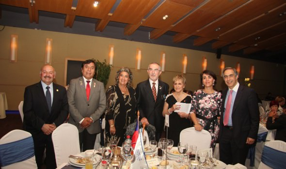 Rotary Club Viña del Mar  distinguió a alcaldesa Virginia Reginato como socia honoraria