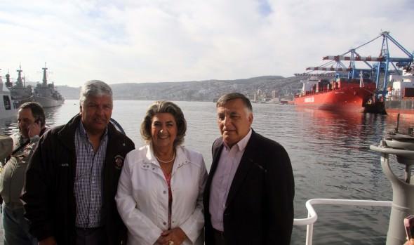 Puntos de lanzamiento para festival pirotécnico  fueron inspeccionados por alcaldesa Virginia Reginato y autoridades comunales y regionales