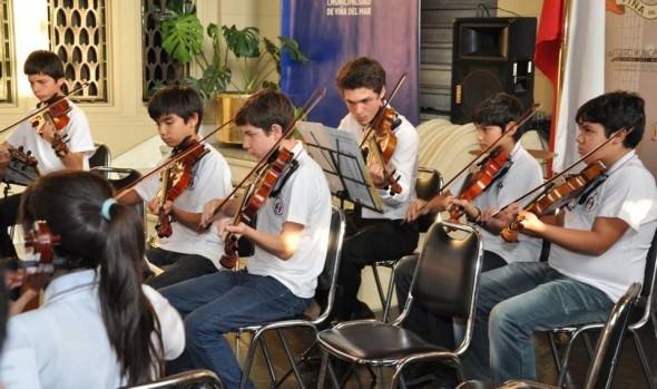 Municipalidad de Viña del Mar invita a participar en XVIII Encuentro Internacional de Jóvenes Músicos