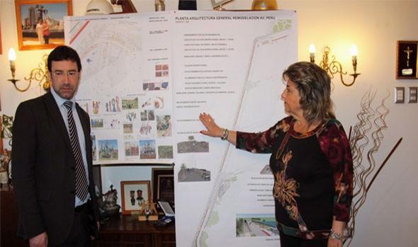 Alcaldesa Virginia Reginato informa su carta de navegación para el 2015
