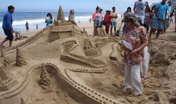 Municipalidad de Viña del Mar invita a participar en nueva versión de Concurso  de Castillos de Arena