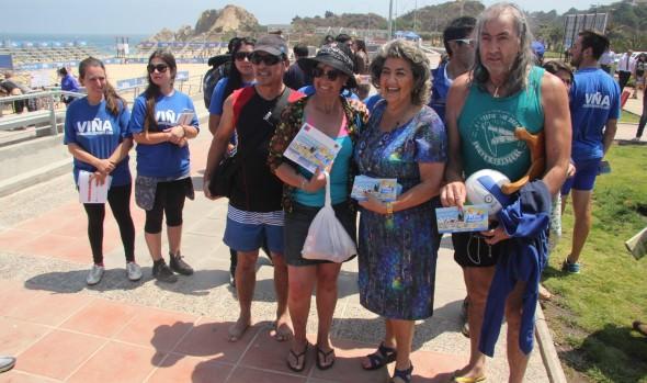 En Viña del Mar, autoridades regionales promueven el Programa verano para todas y todos