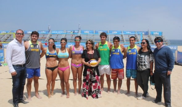Playa del Deporte recibe la tercera fecha del circuíto de Beach Voley