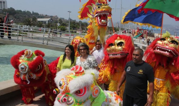 UN COLORIDO Y CULTURAL PANORAMA OFRECE LA CELEBRACIÓN DEL AÑO NUEVO CHINO EN VIÑA DEL MAR