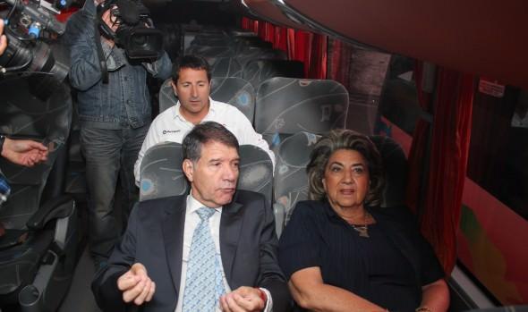 Autoridades destacan medidas de seguridad en transporte interurbano
