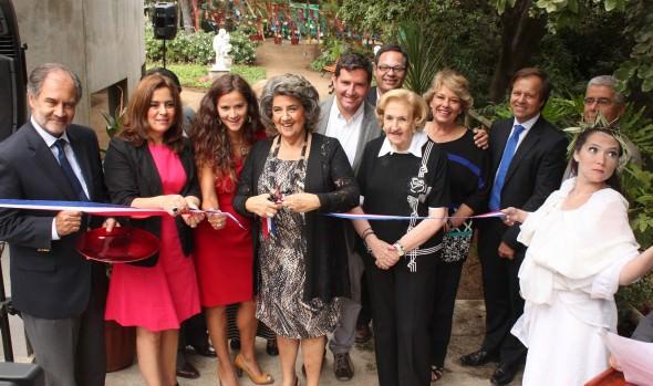 """""""Jardín de las esculturas"""" en el Museo Artequin Viña del Mar fue inaugurado por alcaldesa Virginia Reginato"""