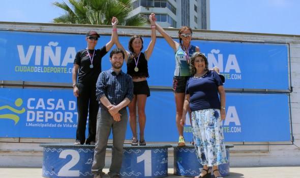 Chilenos dominaron en el Triatlón Internacional de Viña del Mar 2015