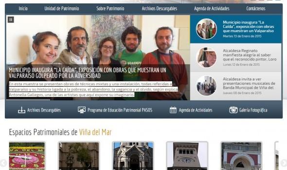 Creación de una nueva y completa página web sobre Patrimonio en Viña del Mar fue destacado por alcaldesa Virginia Reginato