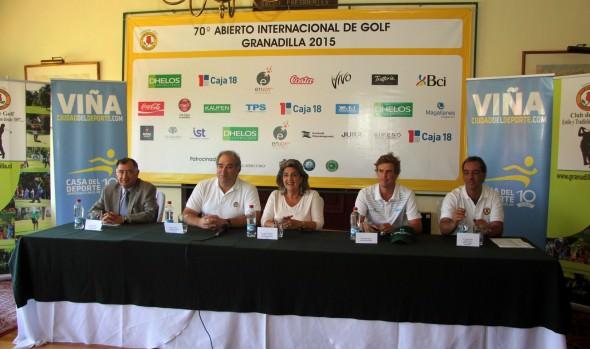 Los mejores representantes del golf sudamericano participan en el 70° abierto de Granadilla en Viña del Mar