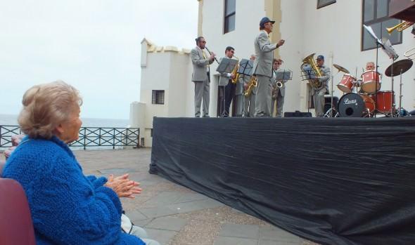 En Castillo Wulff continúa presentación de Banda Municipal de Viña del Mar
