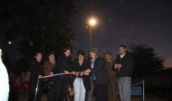 Municipio de Viña del Mar continúa mejorando la iluminación de Glorias Navales