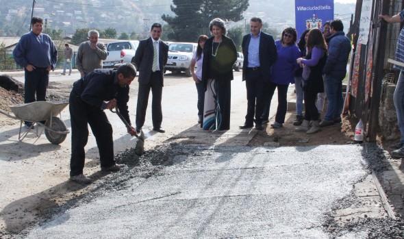 Municipalidad de Viña del Mar adjudicó obras de reparación de aceras en diversos sectores de la comuna