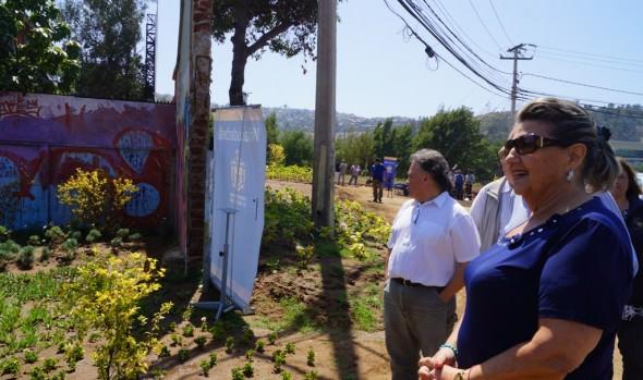 Construcción  de área verde en ingreso a Viña del Mar fueron inspeccionadas por alcaldesa Virginia Reginato