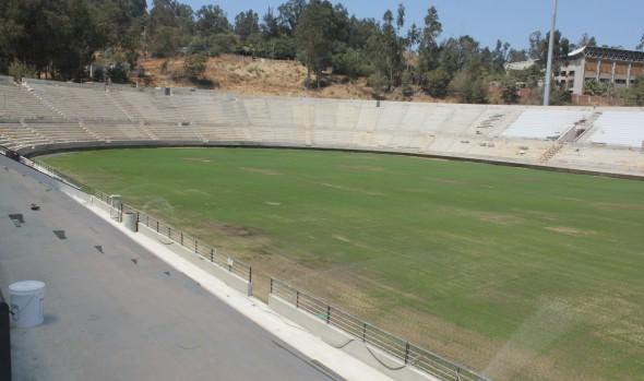 En los próximos días se inicia montaje de Galería Laguna en  Estadio Sausalito, informó alcaldesa Virginia Reginato
