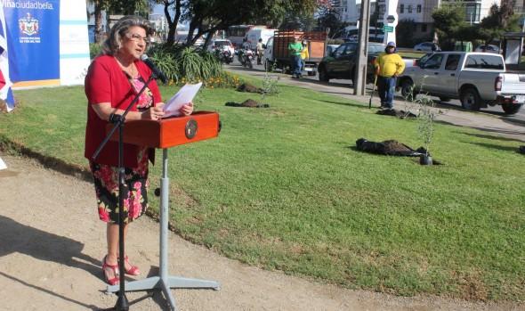Milenaria tradición israelí de plantación de olivos  participó alcaldesa Virginia Reginato