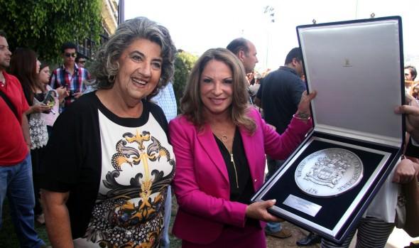 Doctora Polo fue declarada Visita Ilustre de Viña del Mar por alcaldesa Virginia Reginato