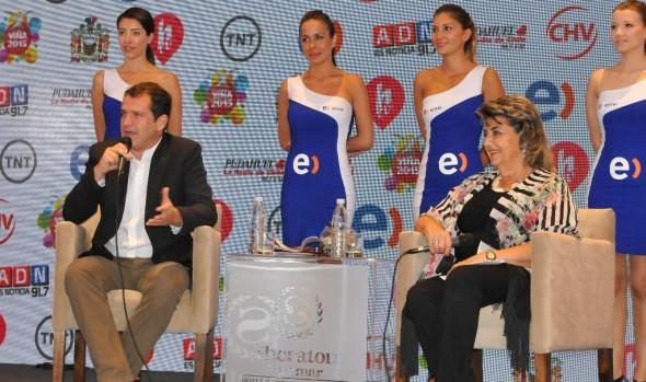 Positivo balance del Festival de Viña del Mar 2015 realizó alcaldesa Virginia Reginato