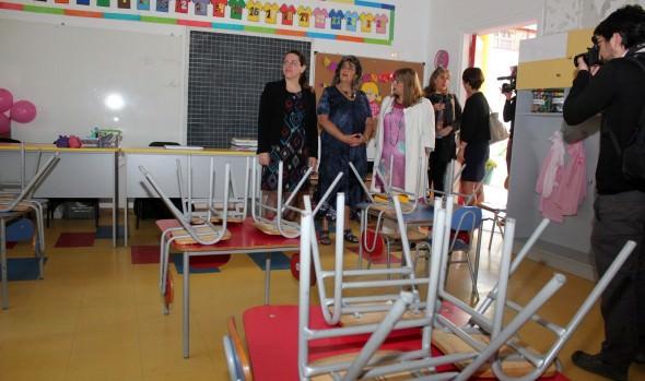 En Viña del Mar, alcaldesa Virginia Reginato y Seremi de educación dan el vamos al año escolar 2015
