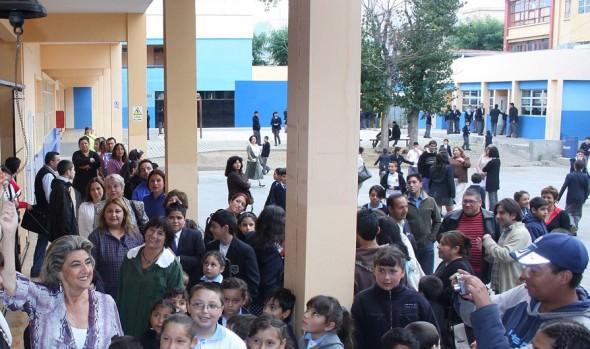 Objetivos educacionales de la Corporación Municipal para año escolar 2015 destacó alcaldesa Virginia Reginato