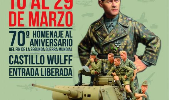 Municipio de Viña del Mar presenta muestra de aviones, figuras y dioramas de Segunda Guerra Mundial en salones del Castillo Wulff