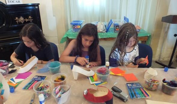Alta participación de niños en talleres patrimoniales durante el verano 2015 fue destacado por alcaldesa Virginia Reginato