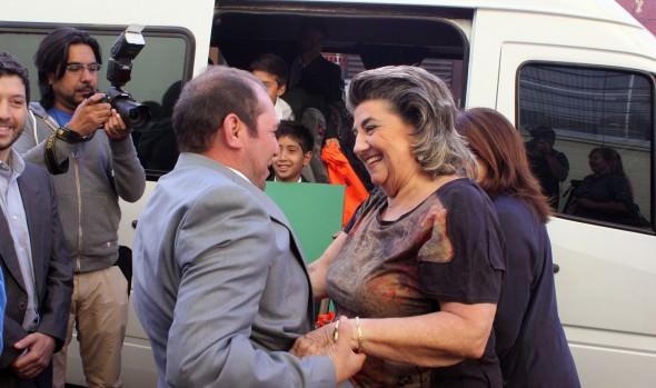 Equipo de fútbol Sub 12 que viajó a conocer el club Juventus, fue despedido por alcaldesa Virginia Reginato