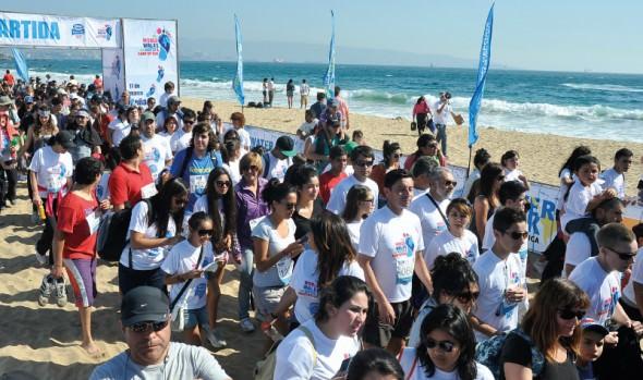 Viña del Mar será una de las 40 ciudades del planeta en que se realizará la caminata mundial por el agua