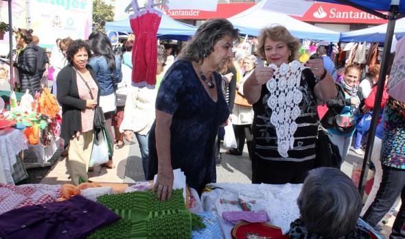Exposición Creaciones de mujer realizó Municipalidad de Viña del Mar
