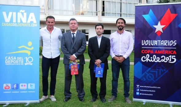 En Viña del Mar comenzaron capacitaciones para voluntarios de la Copa América Chile 2015