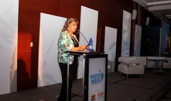 3ª Conferencia de la  Semana Latinoamericana del agua fue inaugurada por alcaldesa Virginia Reginato