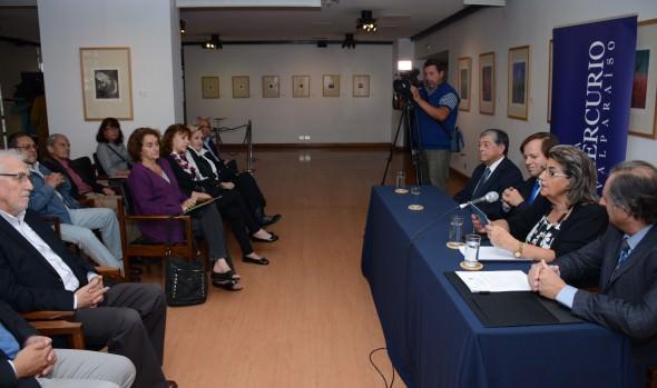 Corporación Cultural de Viña del Mar suscribió convenio con El Mercurio de Valparaíso