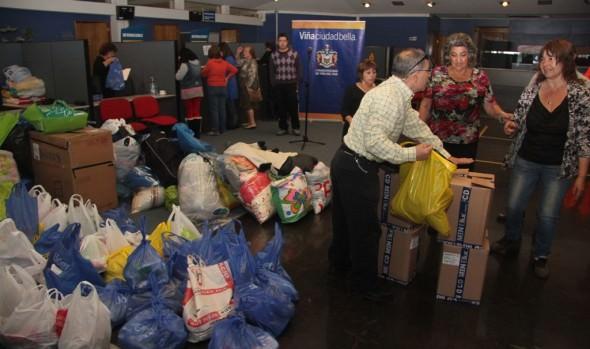 Alcaldesa Virginia Reginato encabeza campaña de recolección de ayuda para el norte
