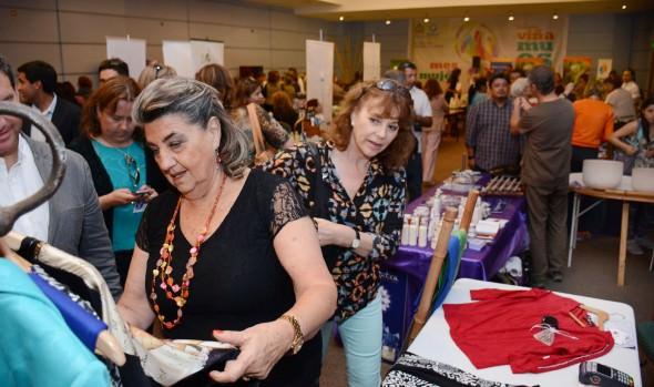Expo mujer salud y belleza de Viña del Mar fue visitada por alcaldesa Virginia Reginato