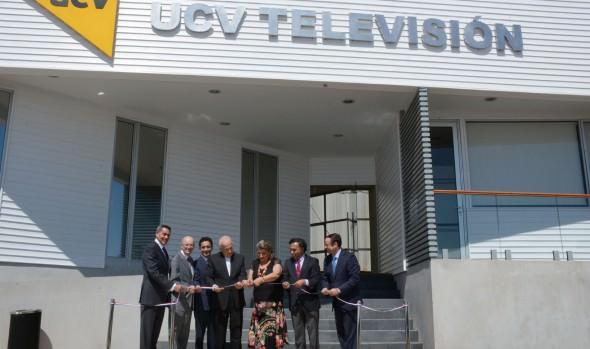 Nuevas dependencias de UCV TV fueron inauguradas por alcaldesa Virginia Reginato