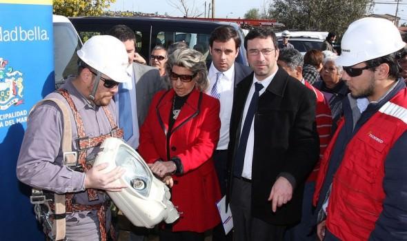 Municipio de Viña del Mar mejorará iluminación en tramo de Av. Frei