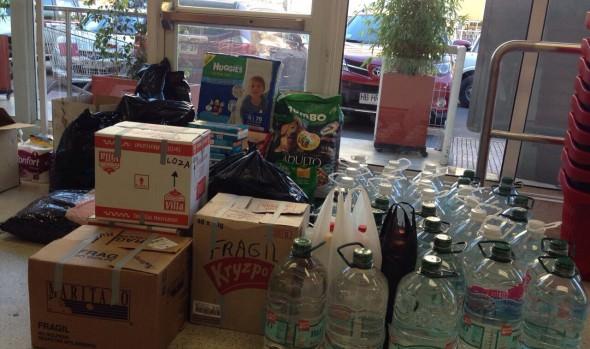 Lugares para recolección de ayuda en campaña Viña ayuda al Norte, fueron aumentados por alcaldesa  Virginia Reginato