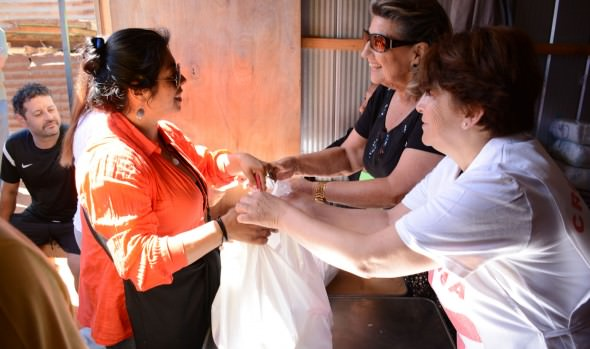 Familias del Comité Esperanza 2011 fueron beneficiadas con operativo social de la Municipalidad de Viña del Mar