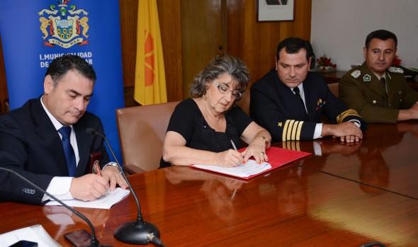 Comisión borde costero reafirma su compromiso con el ordenamiento de las actividades en Viña del Mar