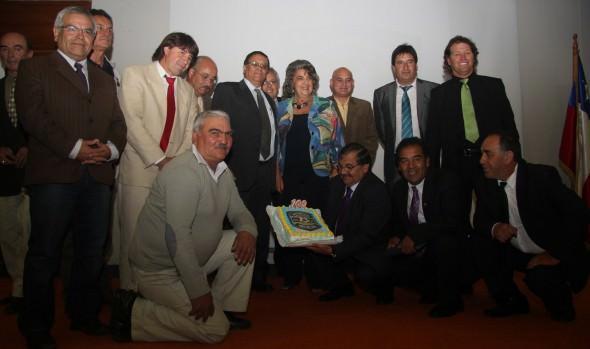 Moderno Complejo Deportivo anunció alcaldesa Virginia Reginato en el Centenario de Asociación  de fútbol de Viña del Mar