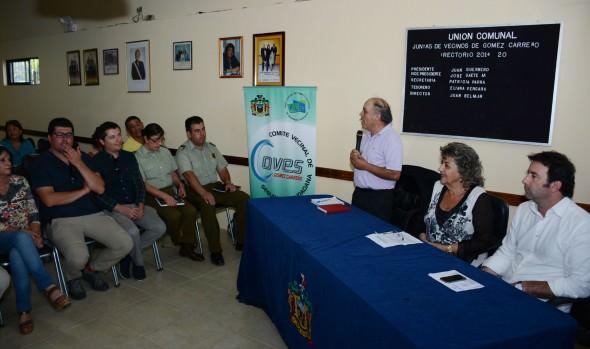 Municipalidad de Viña del Mar licitará importante proyecto de mejoramiento vial en Gómez Carreño