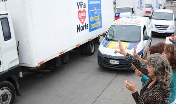Alcaldesa Virginia Reginato agradece a los viñamarinos por su solidaridad