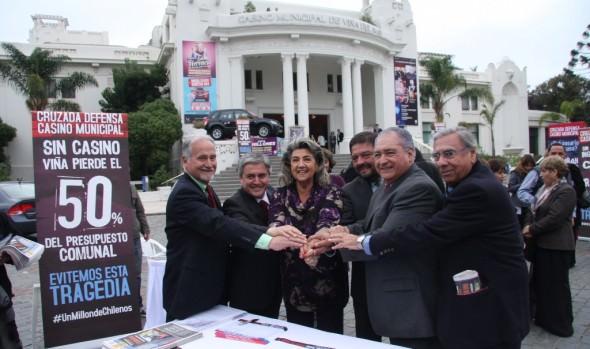Próxima votación en el Senado de nueva Ley de Casinos valoró alcaldesa Virginia Reginato