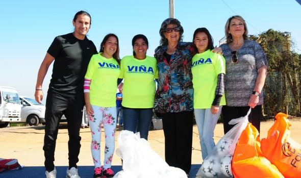 Municipalidad  de Viña del Mar instaura nueva escuela de fútbol en la parte alta de la ciudad