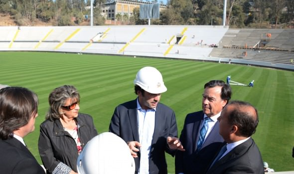 Término de obras civiles del nuevo estadio Sausalito supervisó alcaldesa Virginia Reginato
