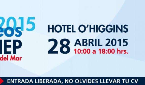 """En Viña del Mar se realizará la sexta versión de """"Expo empleos AIEP 2015"""""""